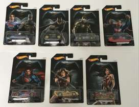 Hot Wheels A Escala Batman Vs Superman Coleccion Set 7