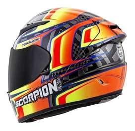 Casco Scorpion Exo-r2000 Tagger Ensenada Helmett (SEGUNDA MANO)
