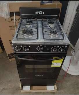 Estufa abba con horno, encendido electrico 4 Fogones