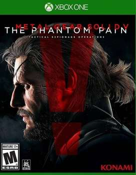 Metal Gear Solid 5 The Phamtom Pain Xbox One, Físico