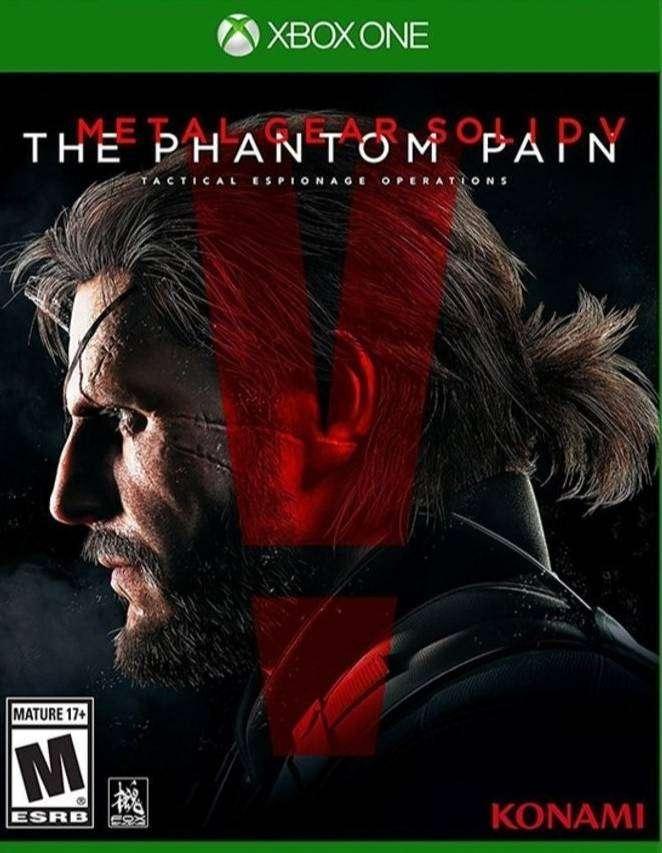 Metal Gear Solid 5 The Phamtom Pain Xbox One, Físico