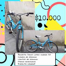 Bicicleta celeste