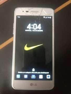 Vendo o cambio celular LG 16 GB fisurado