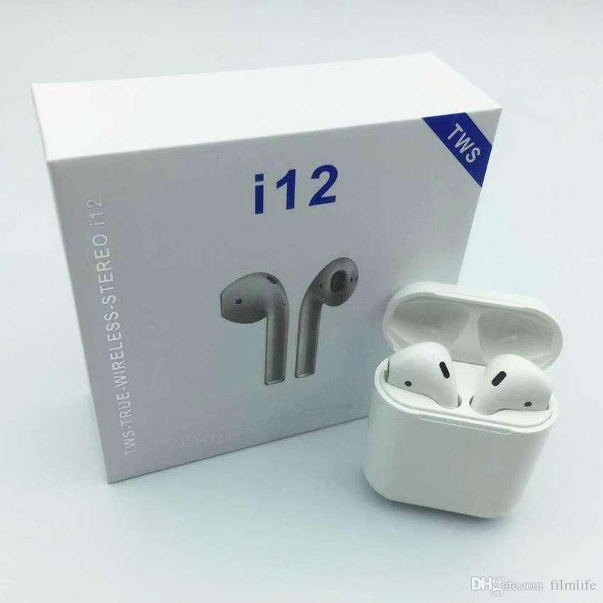 Audifonos I12 Tws Bluetooth 5.0 AirPods Originales Tactil 0