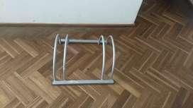Bicicletero para dos bicicletas
