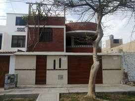 Casa de 2 pisos más azotea a 4 cuadras de la plaza de armas de Pisco, en urb. Privada cuenta con vigilancia las 24 horas