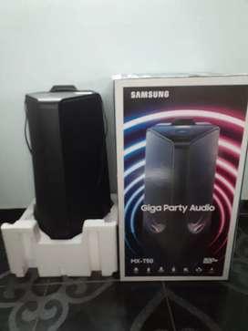 Vendo parlante samsung MX-T50