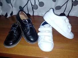 Tennis y zapatos colegiales para  niña talla 32