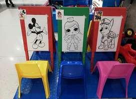 Alquiler Tableritos de Pintura para Niños