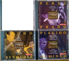 Grandes Leyendas De La Música ($ 10.000 cada uno)