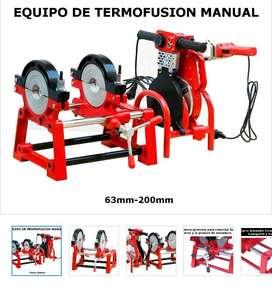 EQUIPO DE TERMOFUSION 200MM