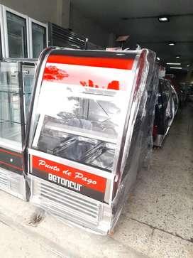 Punto de pago de congelador totalmente nuevo