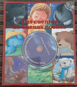 Libro de cuentos con CD