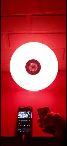 Foco disco parlante music