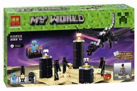 Lego alterno Minecraft Dragon de Ender