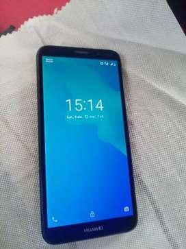 Huawei Y5 2018 2 meses de uso en caja 10/10