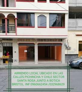 ARRIENDO AMPLIO LOCAL COMERCIAL