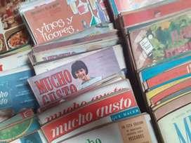 Colección de revista Mucho Gusto (120 ejemplares, de 1959 a 1968)