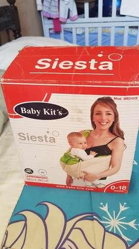 Canguro Siesta Baby Kits COLOR VERDE..9de10