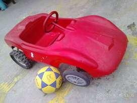 Auto coche niño a pedal