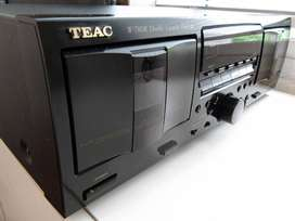 TEAC W780R Doble Autoreverse Funcionando  - Coleccionistas