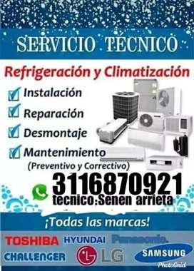 #Servicio técnico de aires acondicionados, lavadoras, secadoras, neveras, estufas...
