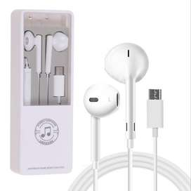 Audifono Stereo Earphone Tipo C