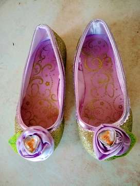 Zapatos  27--usa 11-12 Plant 18 Disney Hada Campanita Perfe