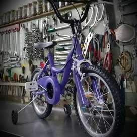 Bici niño con rueditas rrr14