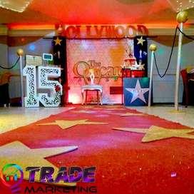 decoraciones para 15 años/bodas de oro/matrimonios/mantelería/montaje