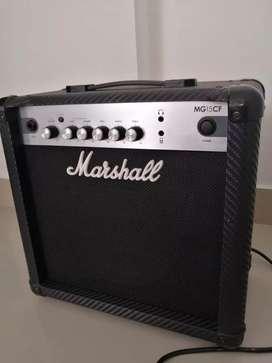 Amplificador Marshall MG15CF 40 watts
