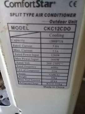 Se vende aire acondicionado en buen estado .330.000mil