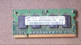 memoria para portatil ddr2 512 mb