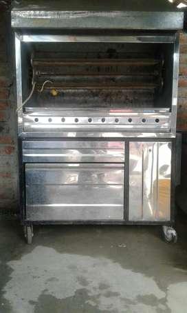 Horno de acero inoxidable para Asar Pollo Y Cosina industrial de venta en Catamayo