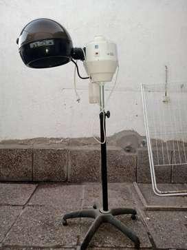 Vaporizador de pie para peluquería
