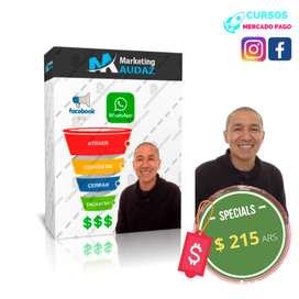 Sistema de ventas Facebook Ads mas WhatsApp MARKETING AUDAZ