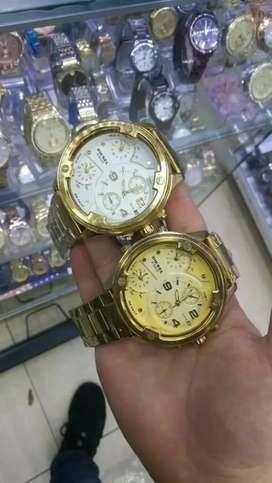 Maquillaje relojes