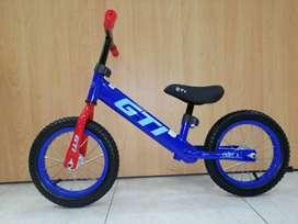 Bicicleta Ride Sin Pedales Balance Niño Y Niña Caucho + Aire