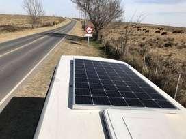 Kit solar base para Motorhome / Casa Rodante.