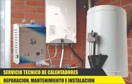 Reparaciones de calentador eléctrico a gas tiro natural tiro forzado y más