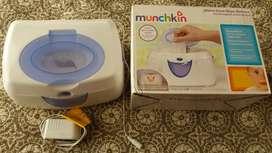 Calentador de toallitas calido munchkin