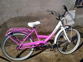 Bicicleta usada rodado 24