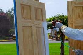 Hago todo tipo de pintura, puertas, frachadas, rejas etc.