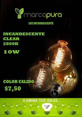 Luz Incandescente clear