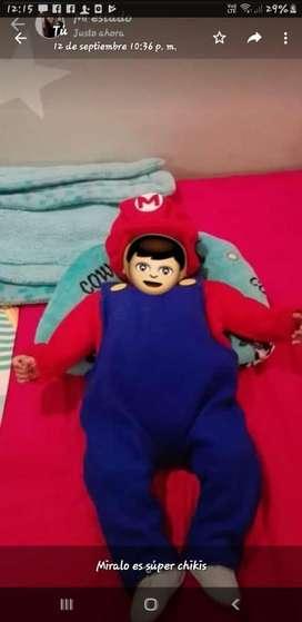 Disfraz de Mario para Bebe