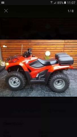 Cuatriciclo Honda 420 2014