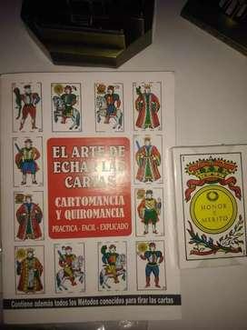 Cartas tarotistas incluyen el manual para principiantes
