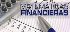 Tutorias Finanzas, matematica Financiera