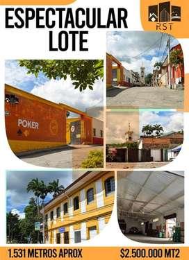 VILLETA VENDO LOTE 1.530 mts2 Urbanos/ parque principal