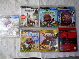 Vendo videos juegos ps3